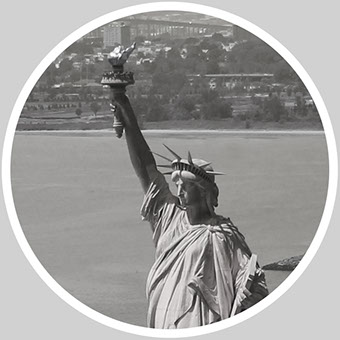 """The Statue of Liberty Enlightening the World"" is recognized as a universal symbol of freedom and democracy."